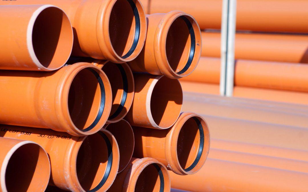 Tubi PVC Fognature: Tubi Scarico, Raccordi e Valvole in PVC